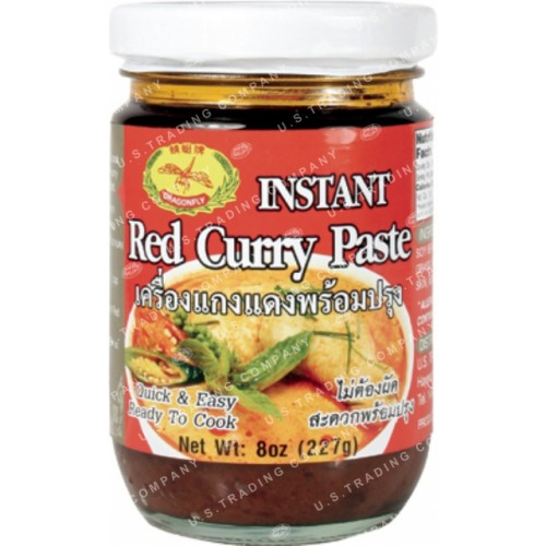 instand red curry paste